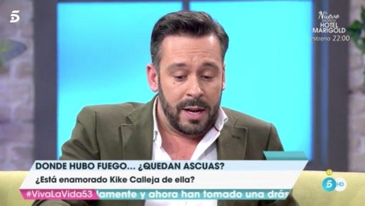 Kike Calleja en 'Viva la vida' | Fuente: Telecinco
