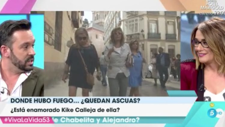 Kike Calleja responde a Terelu Campos | Fuente: Telecinco