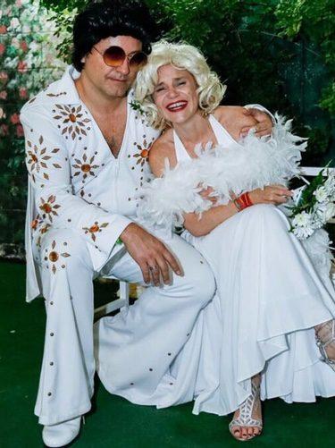Eugenia Martínez de Irujo y Narcís Rebollo en Las Vegas