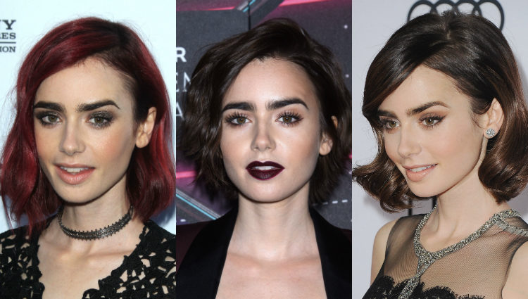 Los looks más rompedores de la actriz Lily Collins