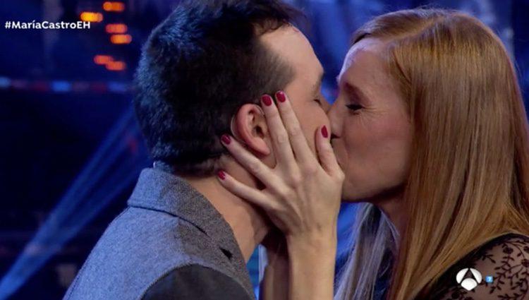 María Castro y su pareja ya prometidos / Foto: antena3.com