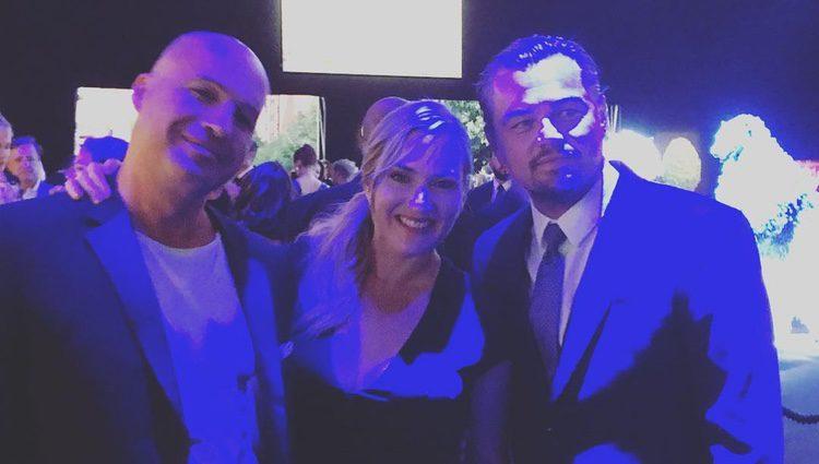 Los tres actores en la gala / Instagram
