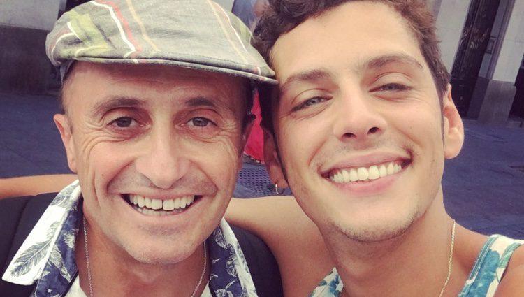 Pepe Viyuela y Eduardo Casanova / Instagram
