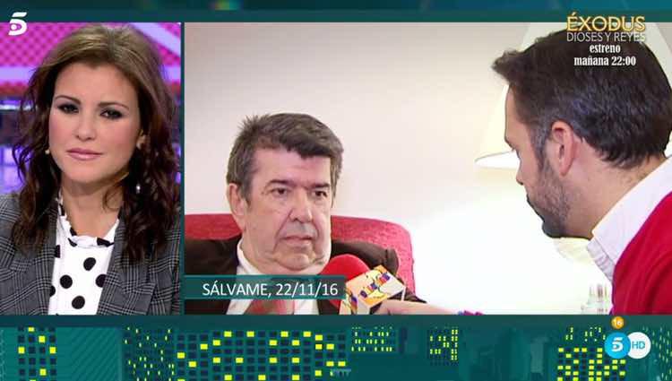 María Jesús Ruiz escuchando las acusaciones que se han hecho / Telecinco.es