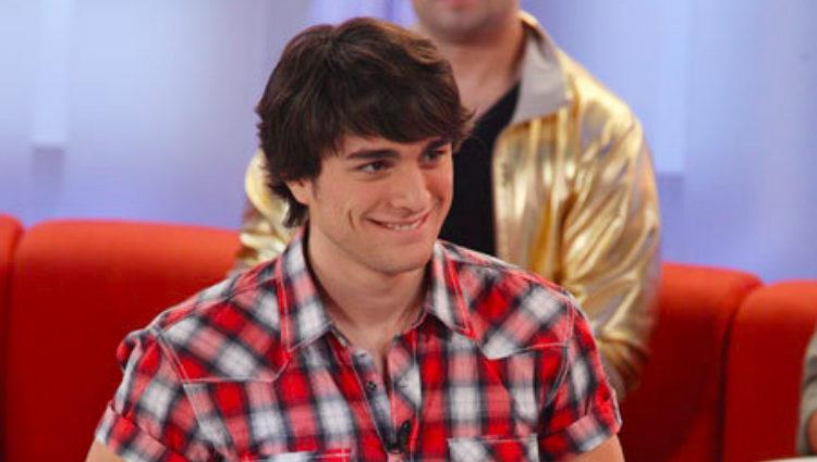 Samuel Cuenda en la Gala 7 de 'Operación Triunfo 2009' en Telecinco