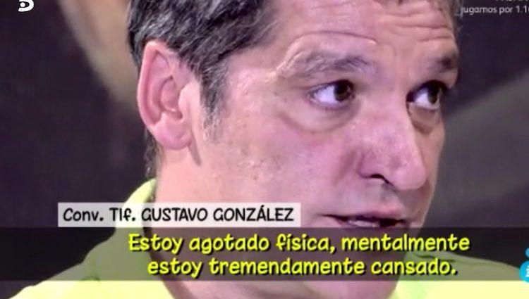 Gustavo González en 'Sálvame'/Foto:telecinco.es