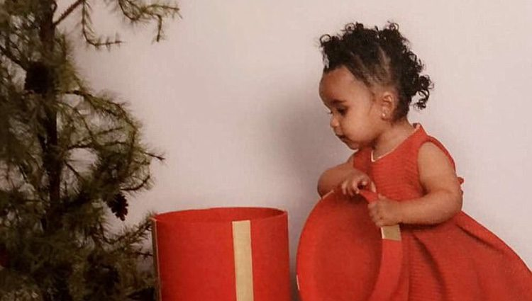 La foto de Dream Kardashian y King Kairo con la que Blac Chyn ha querido felicitar la Navidad