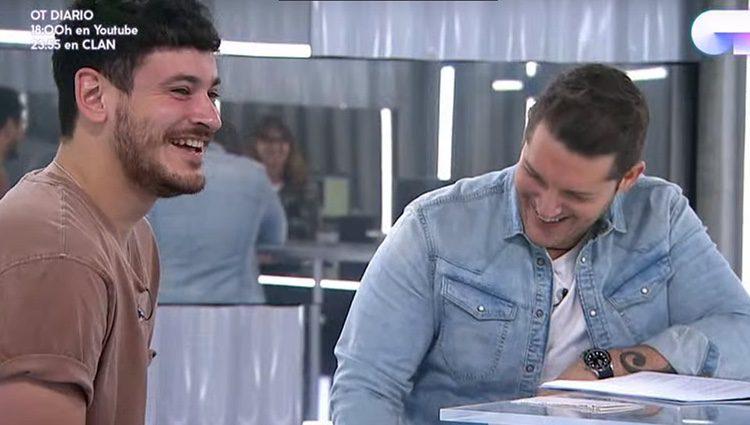 Cepeda y Manu Tenorio / Twitter