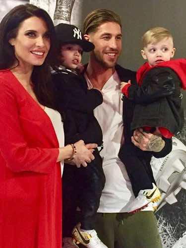 Sergio Ramos presume de familia / Instagram