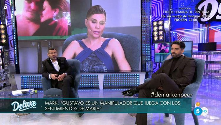 Mark Hamilton junto a Jorge Javier en el 'Deluxe'