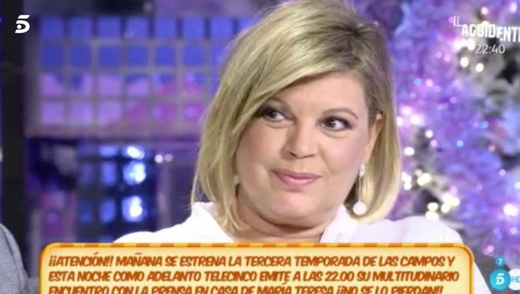 Terelu responde / Foto: telecinco.es