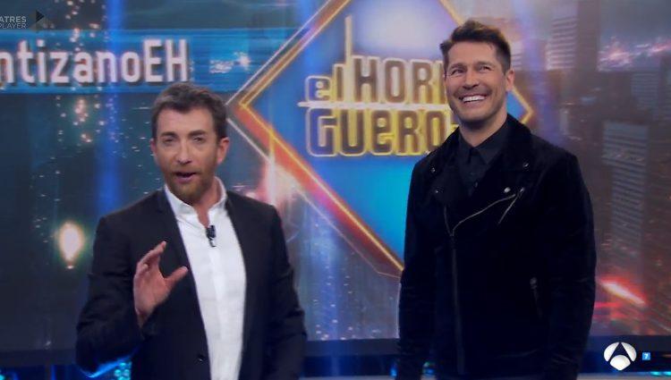 Jaime Cantizano y Pablo Motos en 'El Hormiguero'
