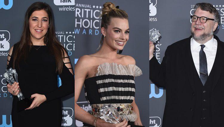 Mayim Bialik, Margot Robbie y Guillermo del Troo entre los premiados de la noche