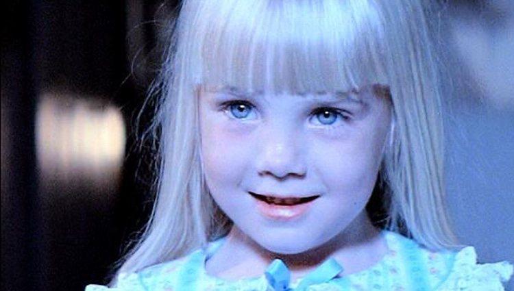 Heather O'Rourke murió cuando era pequeña