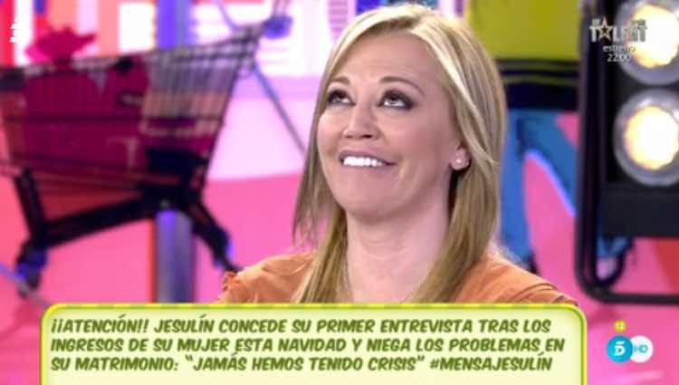 Belén Esteban no quiere hablar de la exclusiva de Jesulín de Ubrique / Telecinco.es