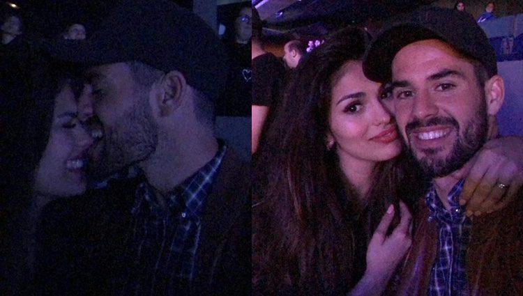 Isco Alarcón y Sara Sálamo disfrutando del concierto de El Barrio/ Fuente: Instagram