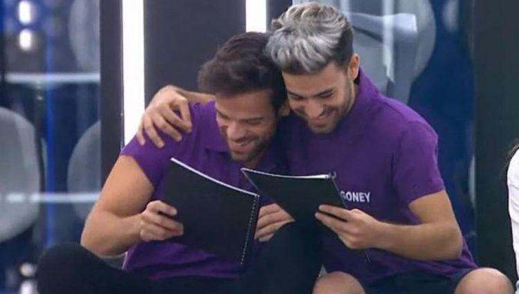 Ricky y Agoney cuando les dieron el tema / Foto: rtve.es