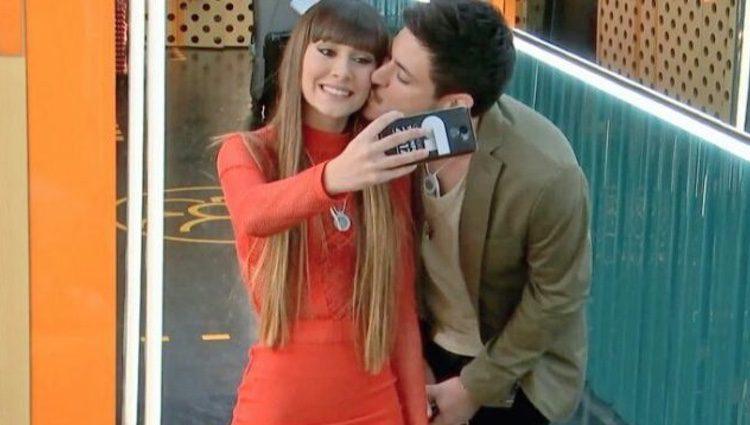 Aitana y Cepeda haciéndose una foto / Foto: rtve.es