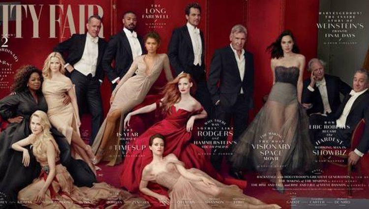 Oprah Y Reese Witherspoon en la portada de Vanity Fair. Vía Instagram