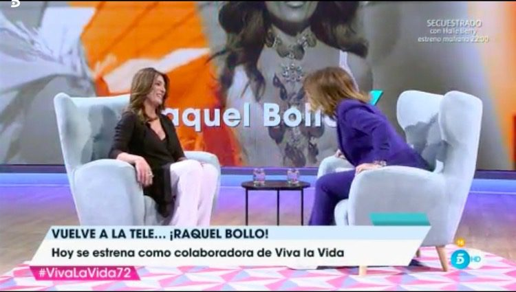 Raquel Bollo en 'Viva la vida'/Foto: Telecinco