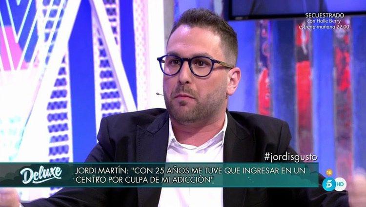 Jordi Martín lo cuenta todo en el 'Deluxe'/Foto: Telecinco