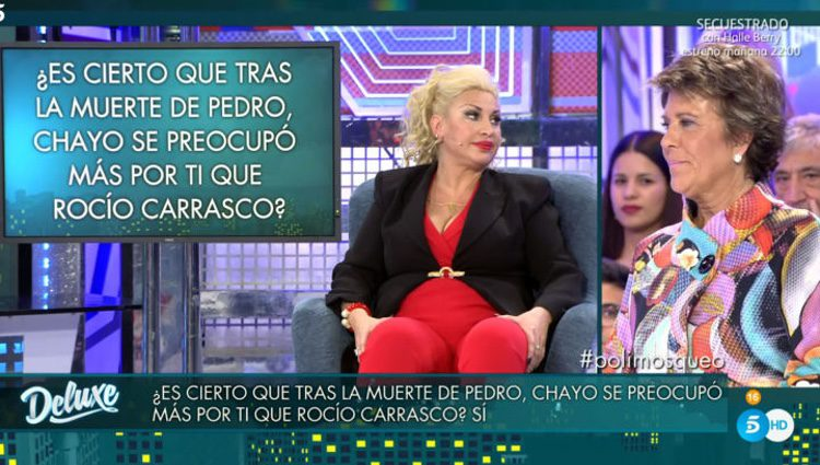 Raquel Mosquera en 'Sábado Deluxe' / Foto. telecinco.es