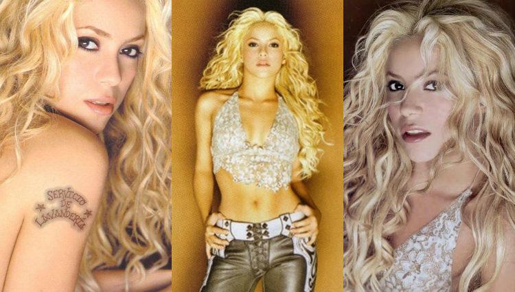 Shakira se tiñó de rubio platino para 'Servicio de lavandería'