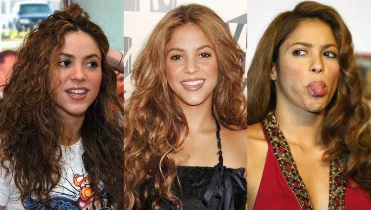 Distintos looks de Shakira con el pelo castaño claro en 2006 | Gtres