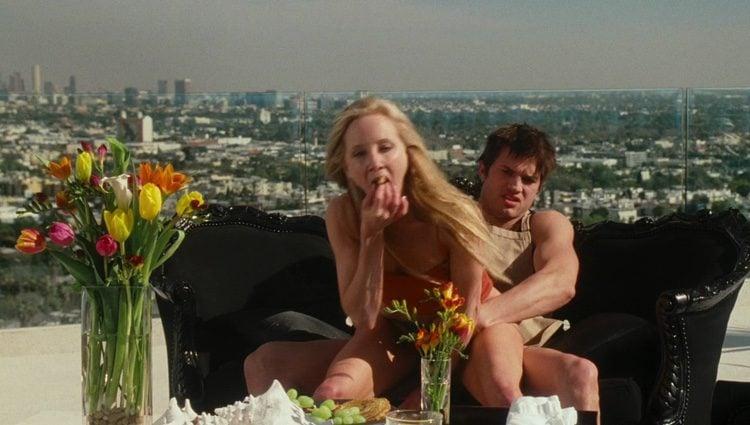 Ashton Kathcer y Anne Hache en 'American Playboy'
