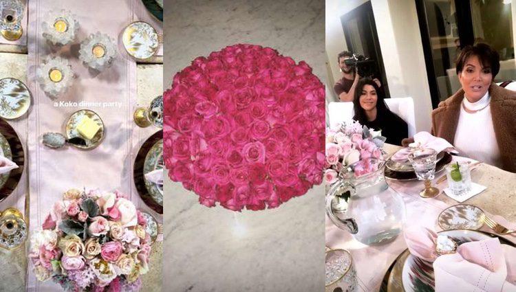 Detalles de la fiesta de Khloe Kardashian / Instagram