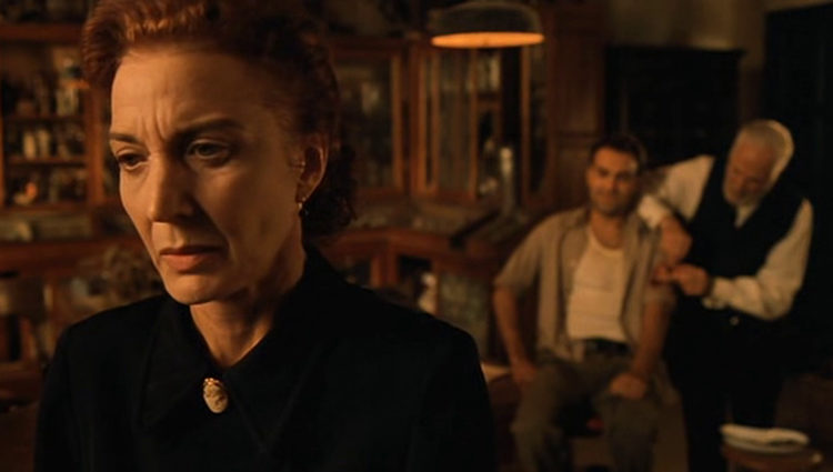 La actriz en 'El espinazo del diablo'