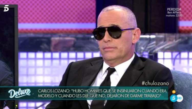Carlos Lozano relatando su experiencia / Telecinco.es