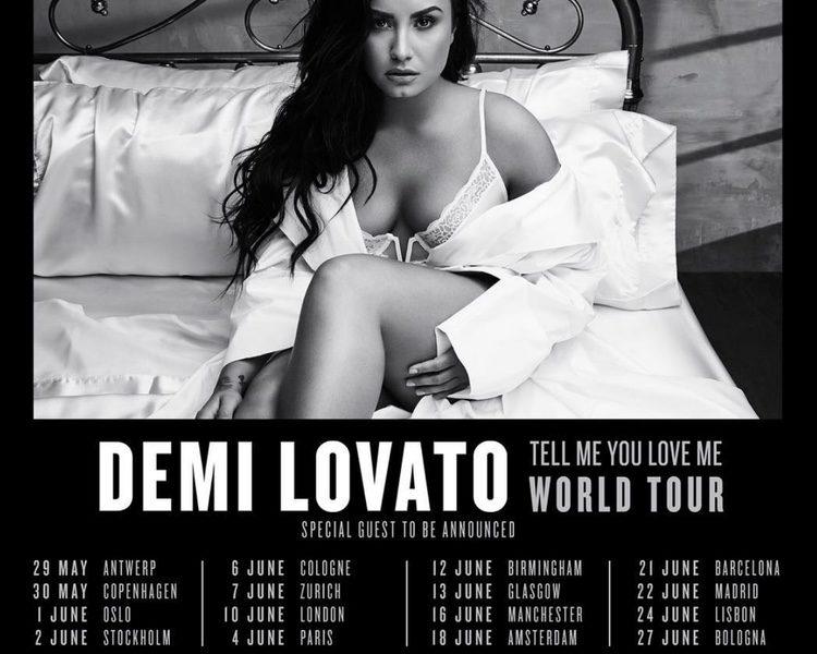 Lista de conciertos de Demi Lovato en Europa