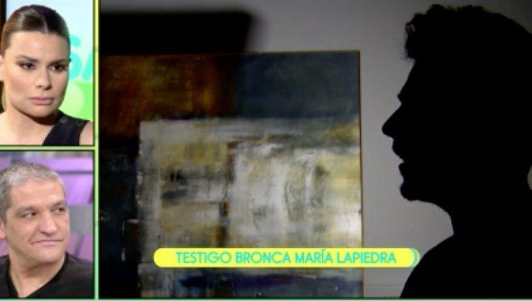 Un testigo cuneta la monumental bronca entre Lapiedra y González/Foto: Telecinco