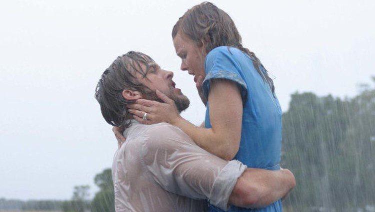 Fotograma de 'El diario de Noa', protagonizado por Ryan Gosling y Rachel McAdams