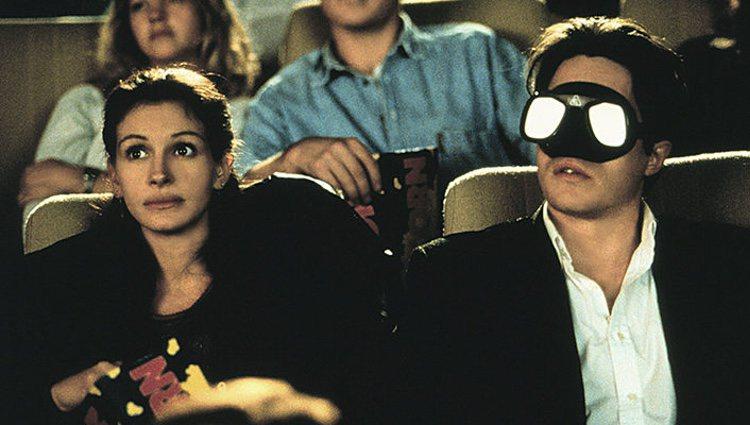 Julia Roberts y Hugh Grant, en una escena de 'Notting hill'