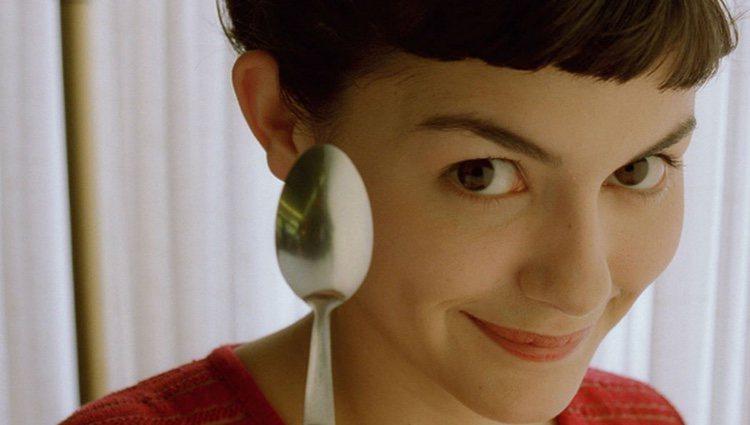 Fotograma de la película 'Amelie', protagonizada por Audrey Tatou
