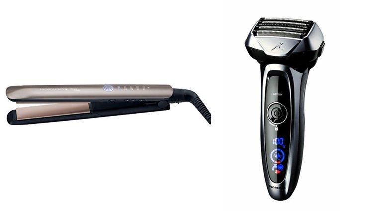 Plancha de pelo y afeitadora