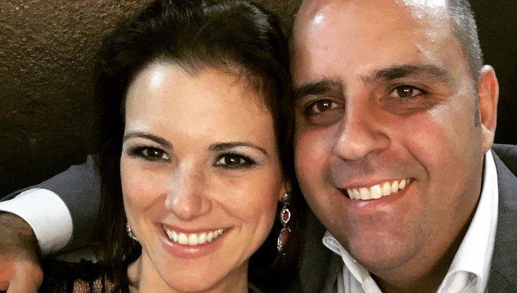 María Jesús Ruiz con Julio Ruz en la foto en la que se ha declarado / Instagram
