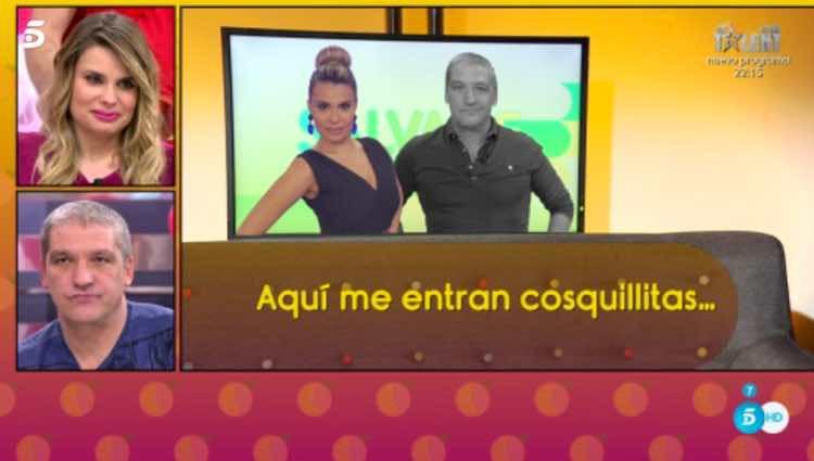 María Lapiedra y Gustavo González, pillados en actitud muy cariñosa / Telecinco.es