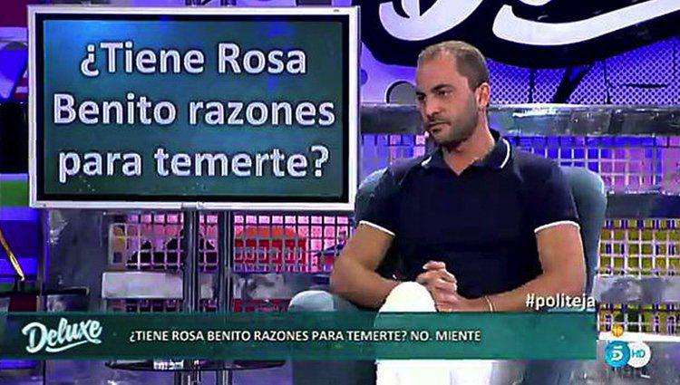 Antonio Tejado habla sobre su relación con Chayo Mohednao en 'Sávame Deluxe'. Telecinco.es