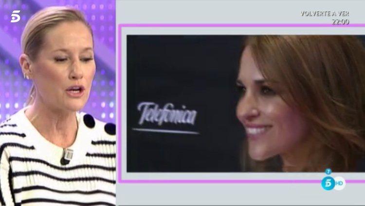 Fiona Ferrer hablando del estilo de Paula Echevarría en 'Cámbiame'