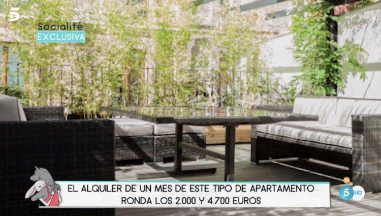 Imagen del interior de uno de estos apartamentos en el Barrio de Salamanca | Foto: Telecinco