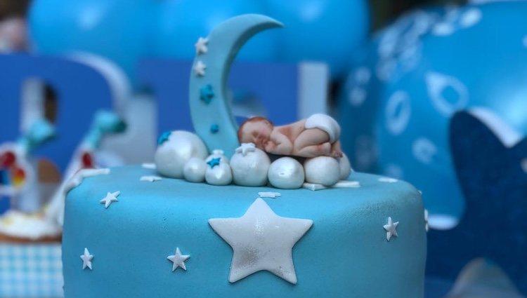 Imagen de la tarta, compartida por Eva González a través de sus redes / Foto: Instagram