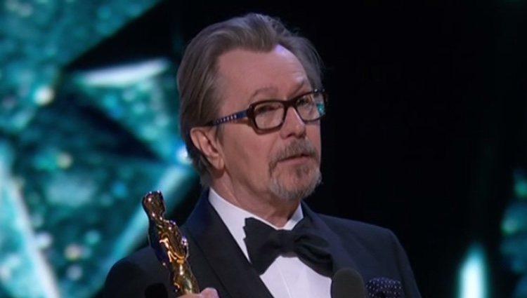 Gary Oldman, agradecido por su premio Oscar a Mejor actor