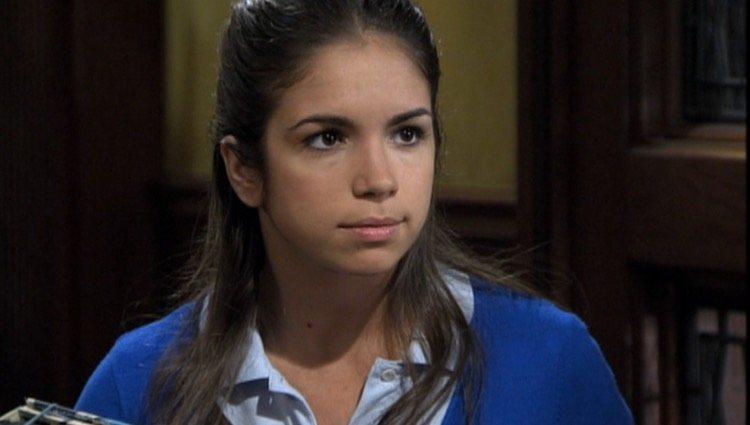 Elena Furiase interpretando a Vicky en 'El Internado'/Foto: Antena3