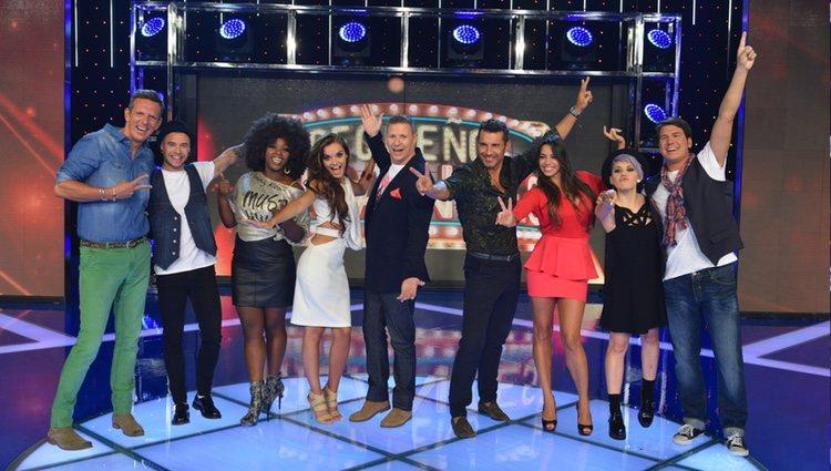 El equipo de la primera temporada de 'Pequeños gigantes' al completo. | Foto: Telecinco.es