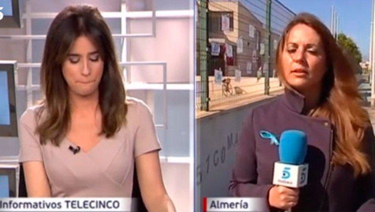 Isabel Jiménez, conmocionada por el caso de Gabriel Cruz/Foto: Telecinco