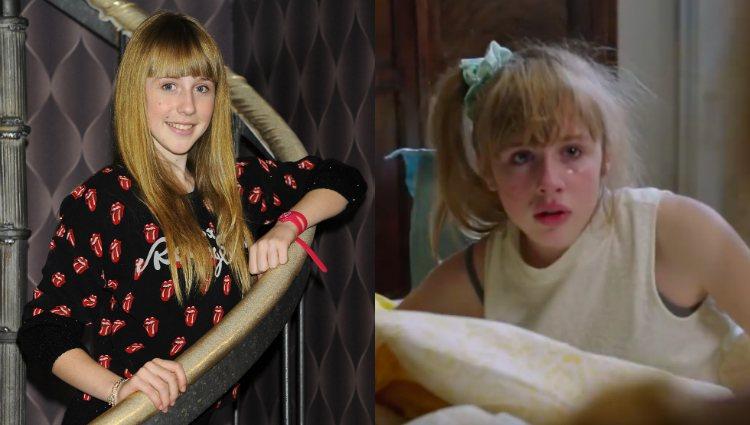 Denisse Peña en la serie 'Bienvenidos al Lolita' y en el corto 'Nena'