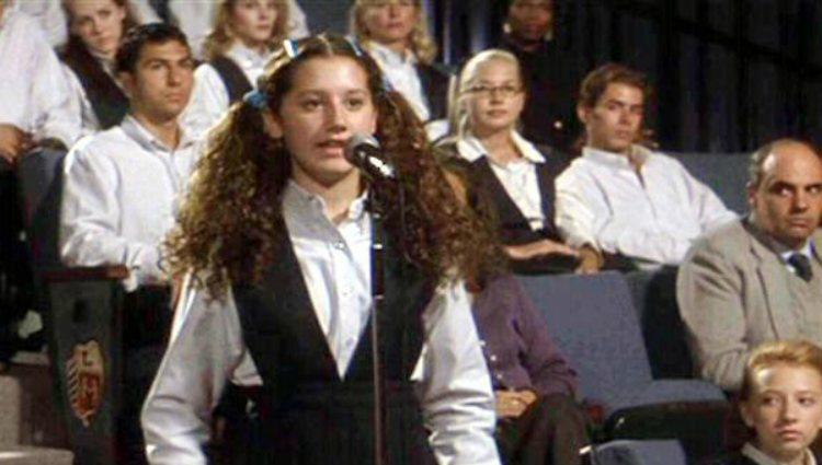 Ashley Tisdale en un fotograma de la película 'Donnie Darko' (2001)